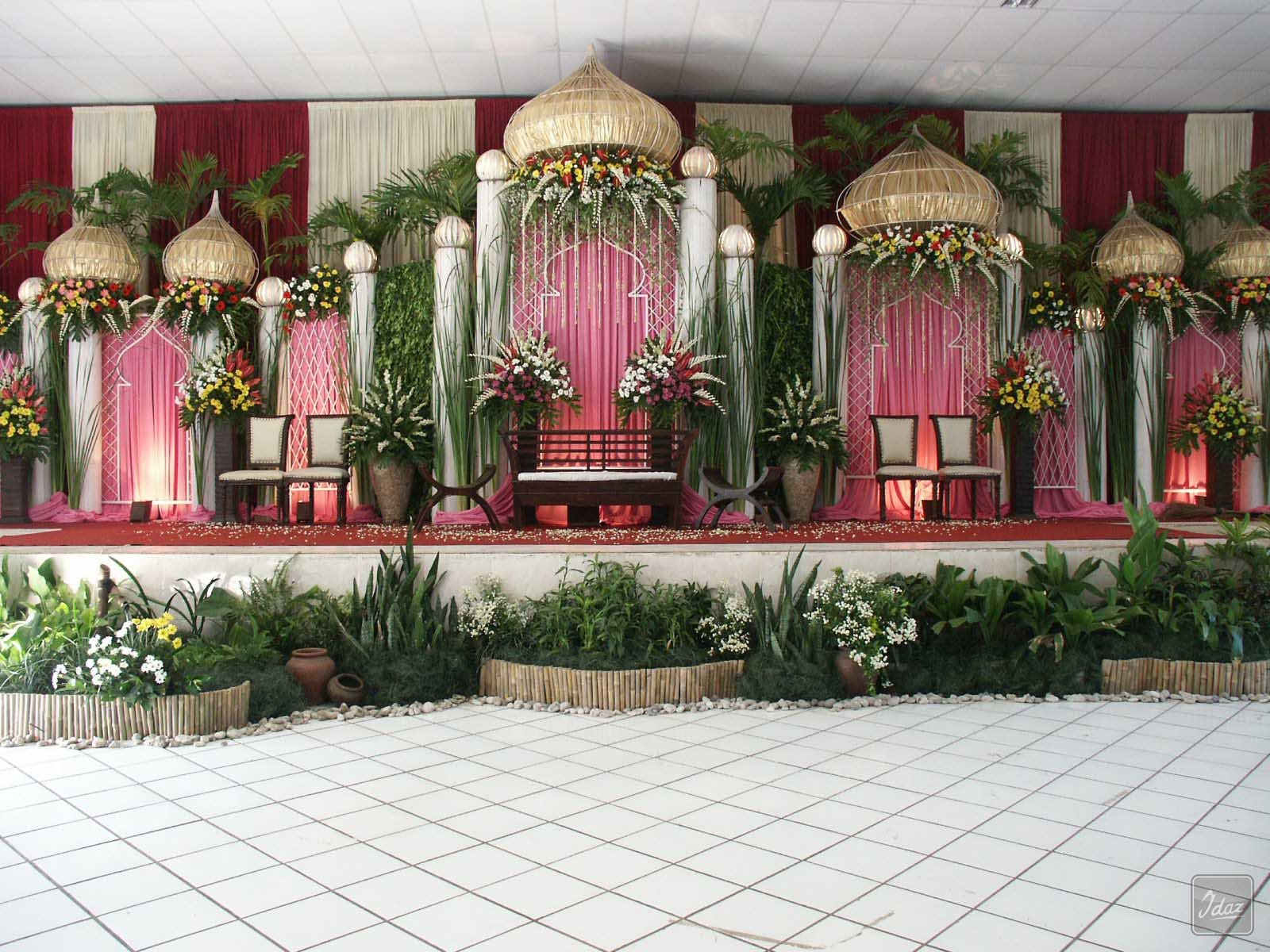 Dekorasi Pernikahan Islami Idaz | Idaz Dekorasi | Dekorasi Pelaminan