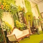 dekorasi pernikahan terbaru by @idazdekorasi