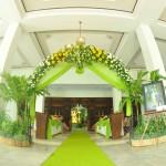 dekorasi pintu masuk