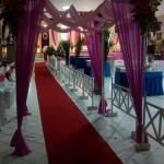 Dekorasi Pelaminan Modern Idaz Dekorasi di Hotel Pati
