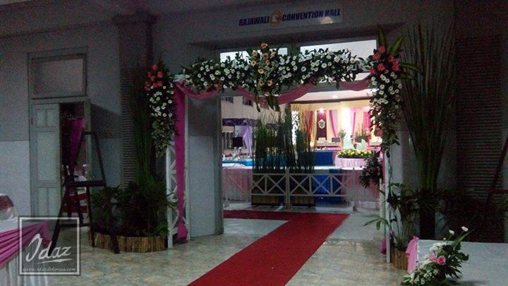 dekorasi pernikahan modern idaz dekorasi di hotel pati