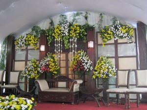 dekorasi pernikahan outdoor 6 meter by idaz dekorasi Telp 089605461219 PIN226e6359