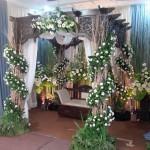 dekorasi pelaminan natural by idaz dekorasi