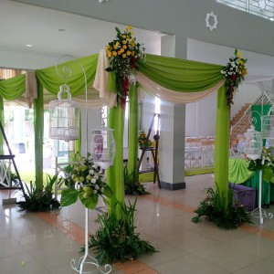 dekorasi pintu masuk idaz dekorasi