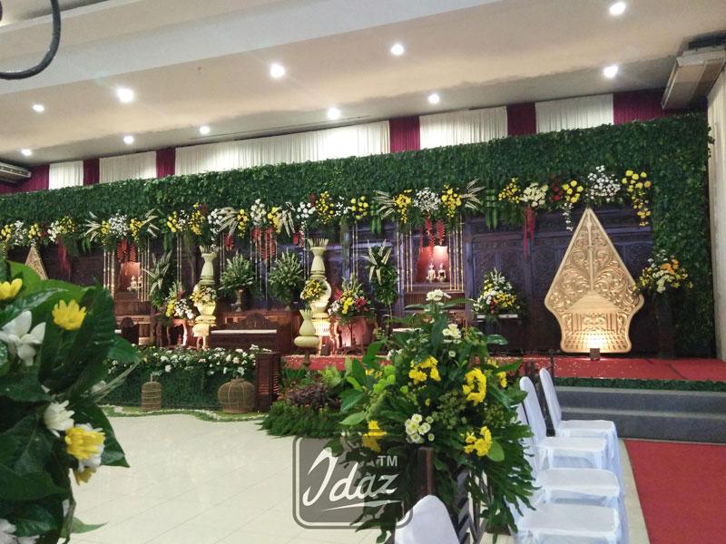 dekorasi gebyok kudus gunungan wayang by idaz dekorasi