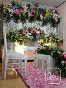 idaz dekorasi   dekorasi pelaminan modern   dekorasi