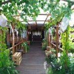 Dekorasi outdoor bale raos kudus idaz dekorasi 085727474741