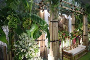 Dekorasi pernikahan bambu dekorasi wedding bambu idaz dekorasi WA 0857 2747 4741dan 0811 650 5758