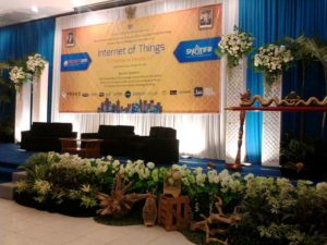 Dekorasi seminar di hotel griptha by idaz dekorasi WA 0857 2747 4741 dan 0811 650 5758