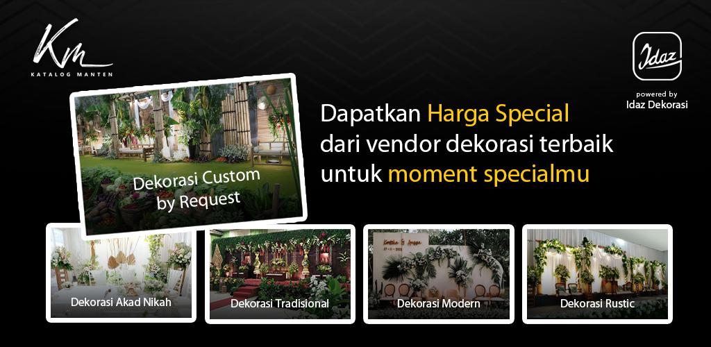 Harga dekorasi akad di Kudus Harga dekorasi pernikahan di Kudus WA 0811 650 5758